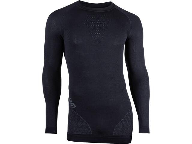 UYN Fusyon UW Koszulka z długim rękawem Mężczyźni, black/anthracite/anthracite